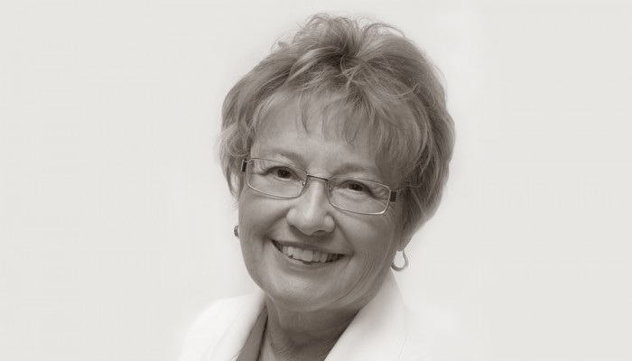 A photo of our founder, Dr. Ingrid Balcomb